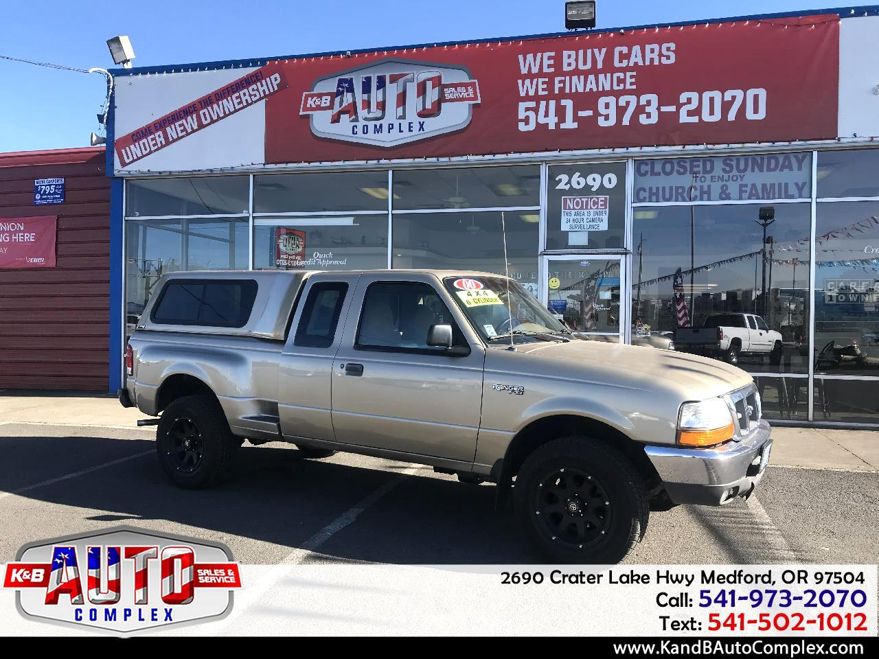 "2000 Ford Ranger Supercab 126"" WB XLT 4WD"