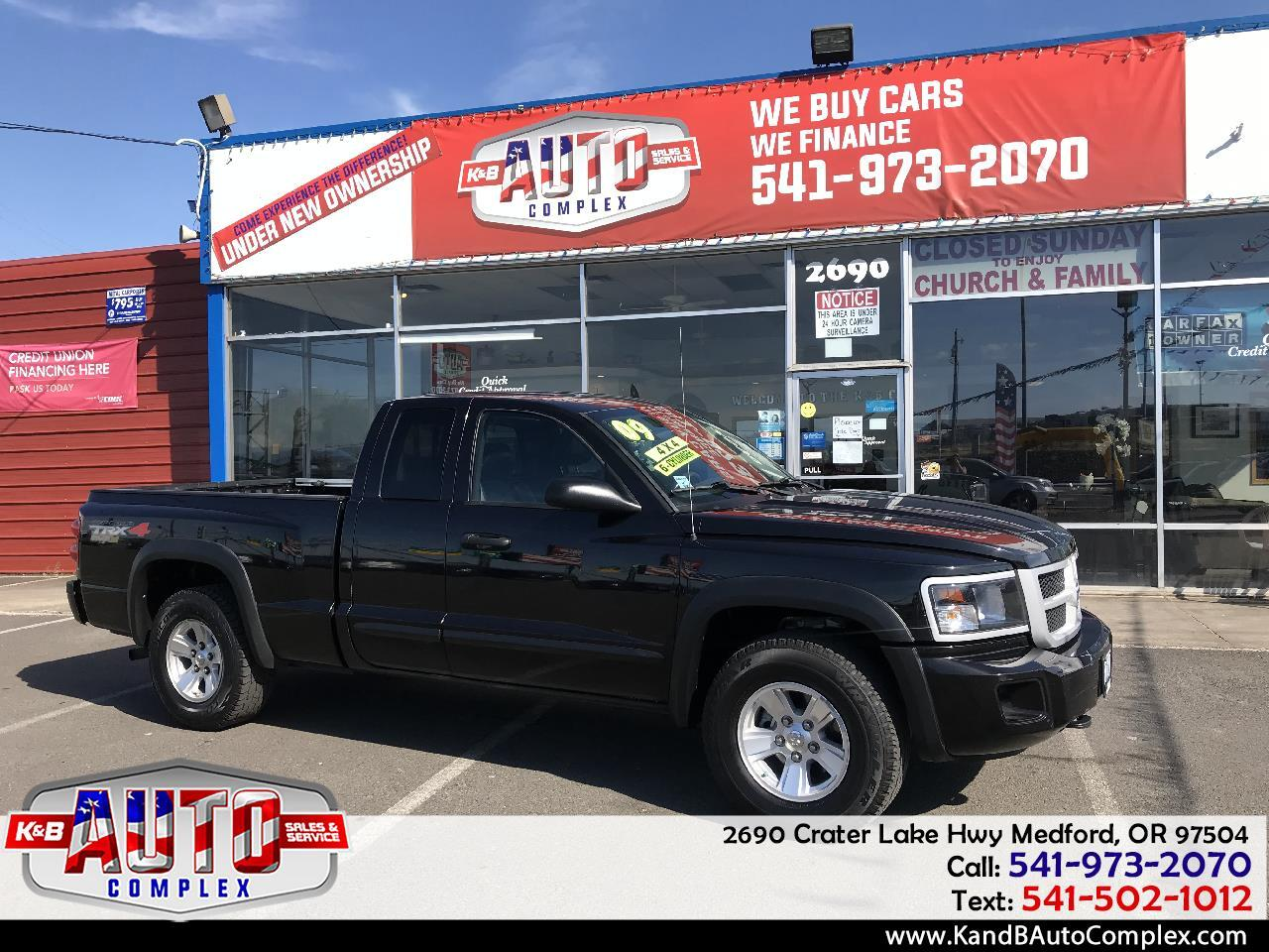 2009 Dodge Dakota 4WD Ext Cab TRX
