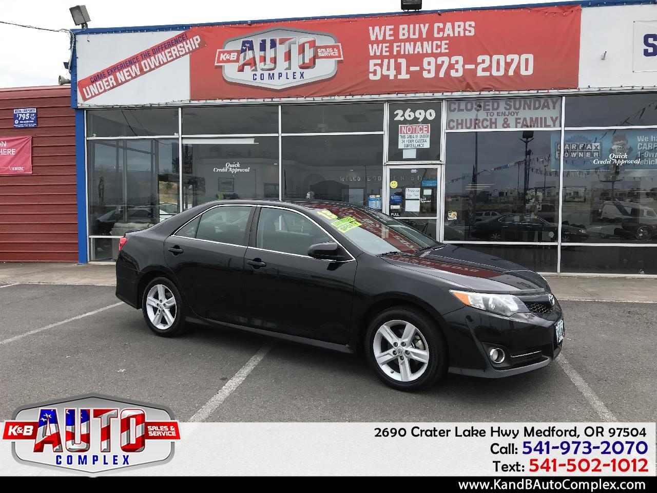 2013 Toyota Camry 4dr Sdn I4 Auto XLE (Natl)