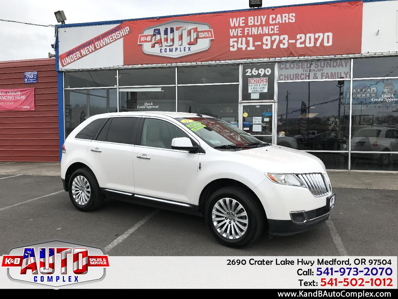 2011 Lincoln MKX FWD 4dr