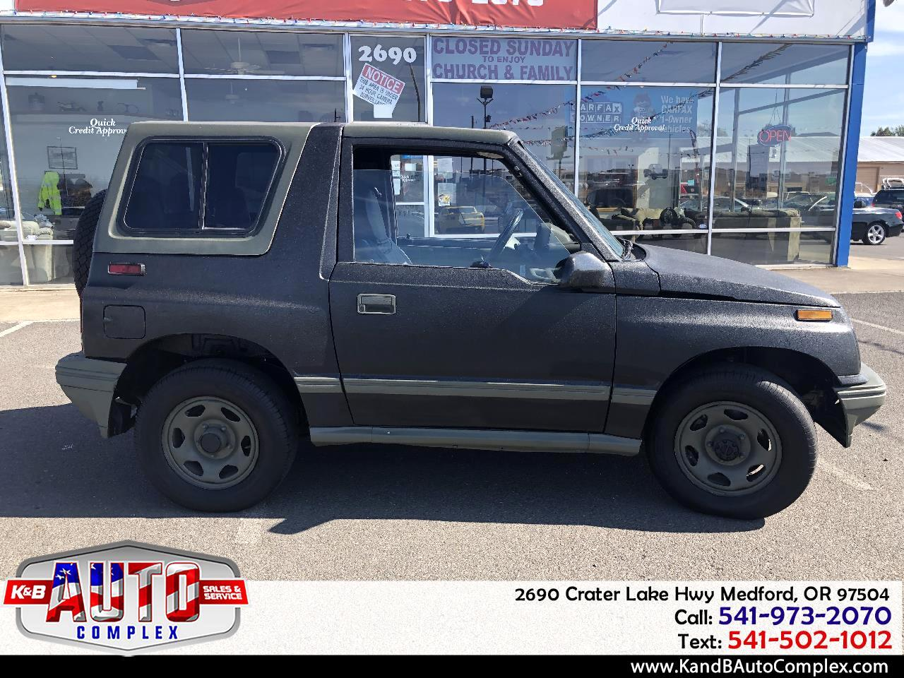 1991 Geo Tracker 2dr Convertible