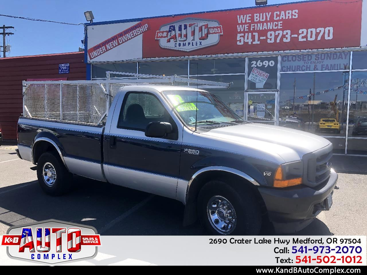 "2002 Ford Super Duty F-250 Reg Cab 137"" XLT"