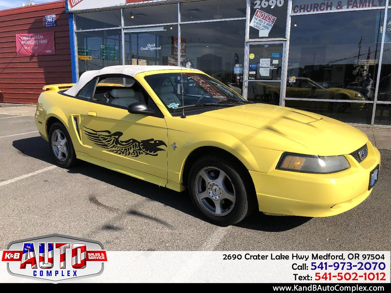 2003 Ford Mustang V6 Premium Convertible