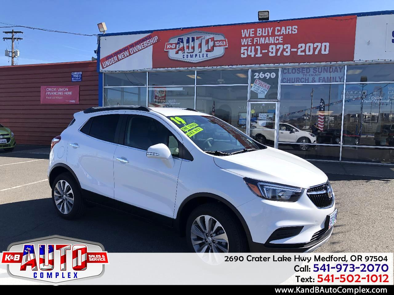 2019 Buick Encore AWD 4dr Preferred