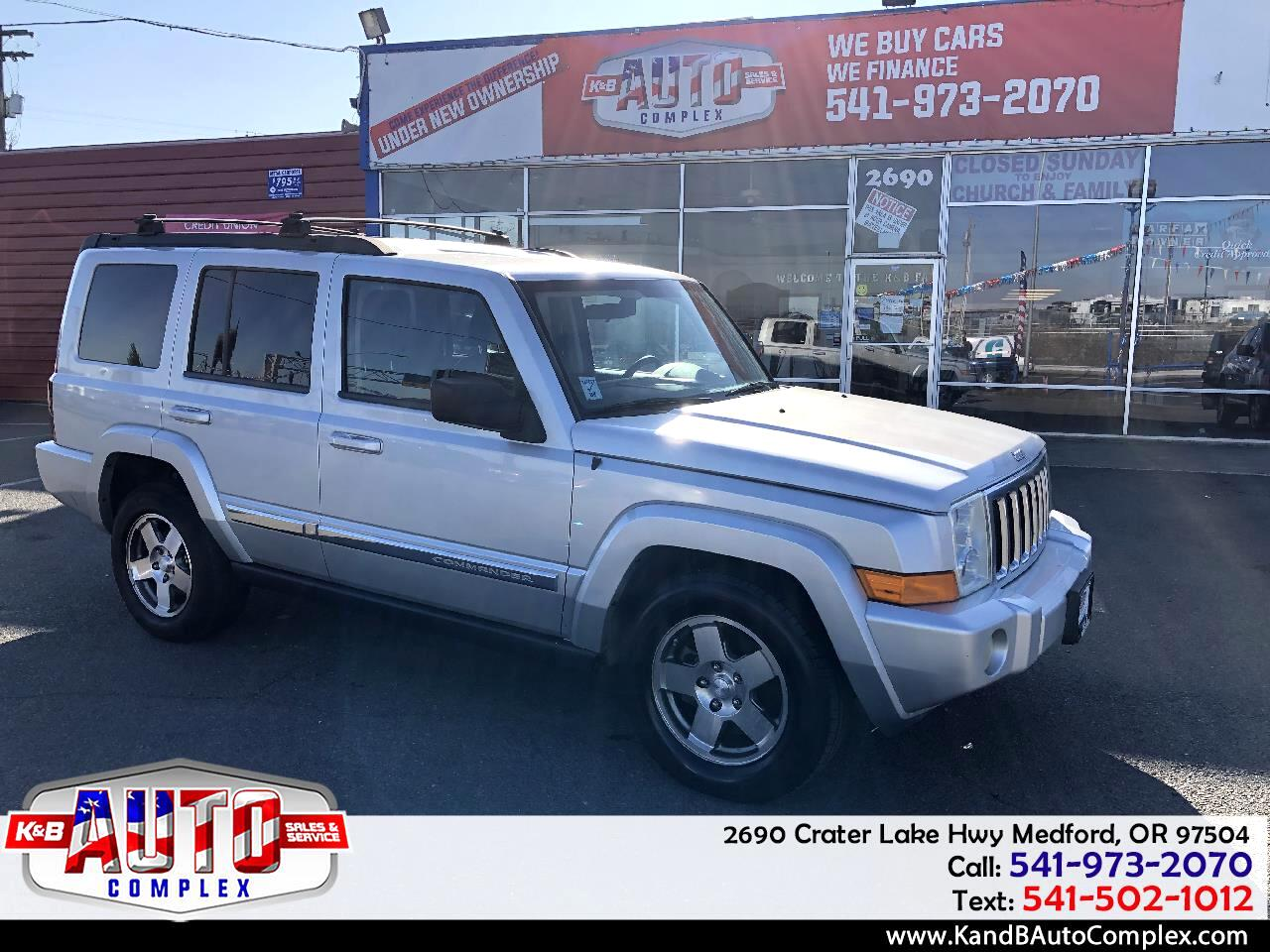 2010 Jeep Commander RWD 4dr Sport