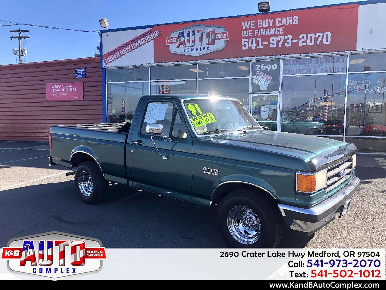 """Ford F-150 Styleside """"S"""" 117"""" WB 1991"""