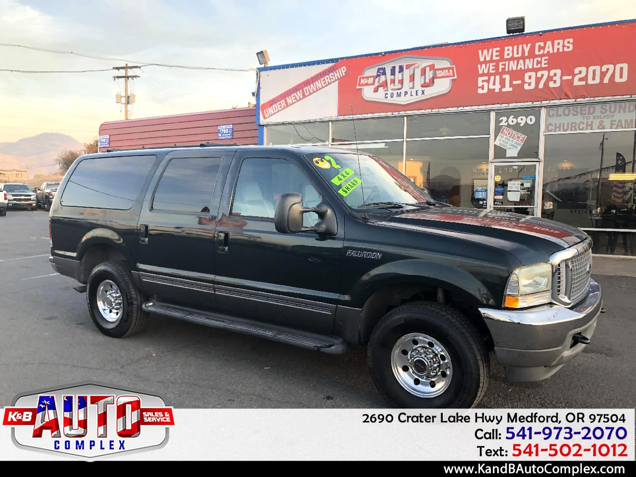 "Ford Excursion 137"" WB 6.8L XLT 4WD 2002"