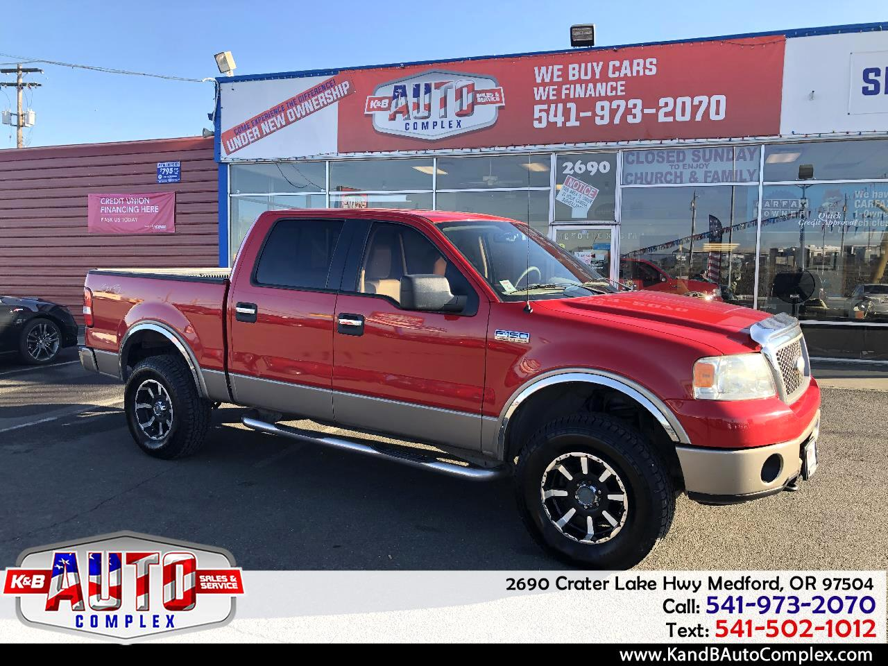 "Ford F-150 SuperCrew 139"" King Ranch 4WD 2006"