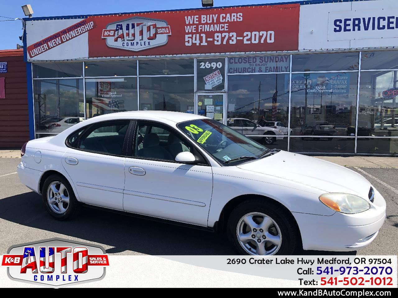 Ford Taurus 4dr Sdn SES Deluxe 2003
