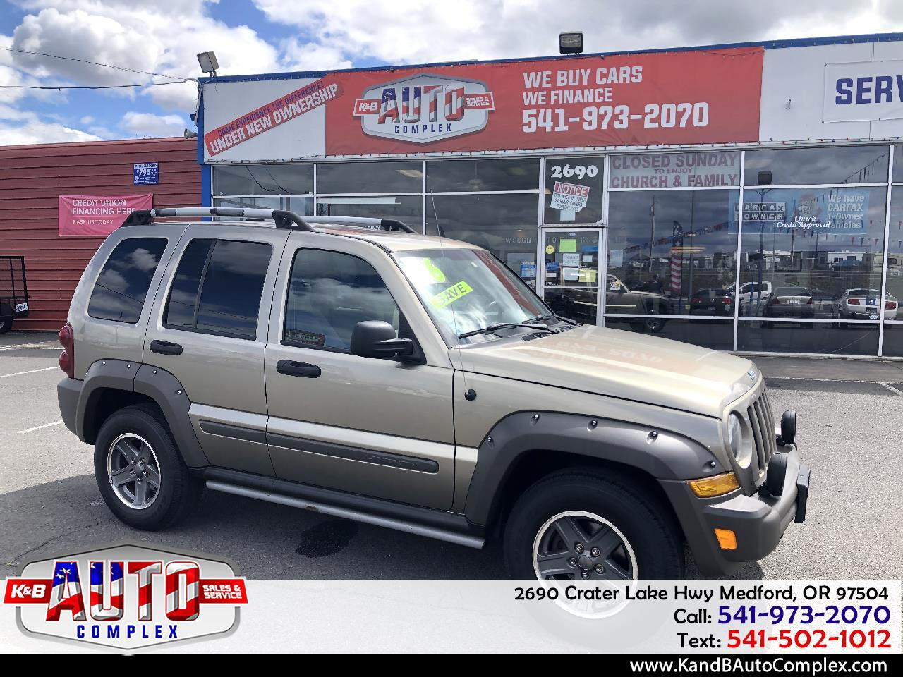Jeep Liberty 4dr Renegade 2006