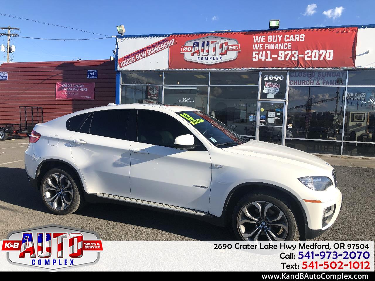 BMW X6 AWD 4dr xDrive35i 2013