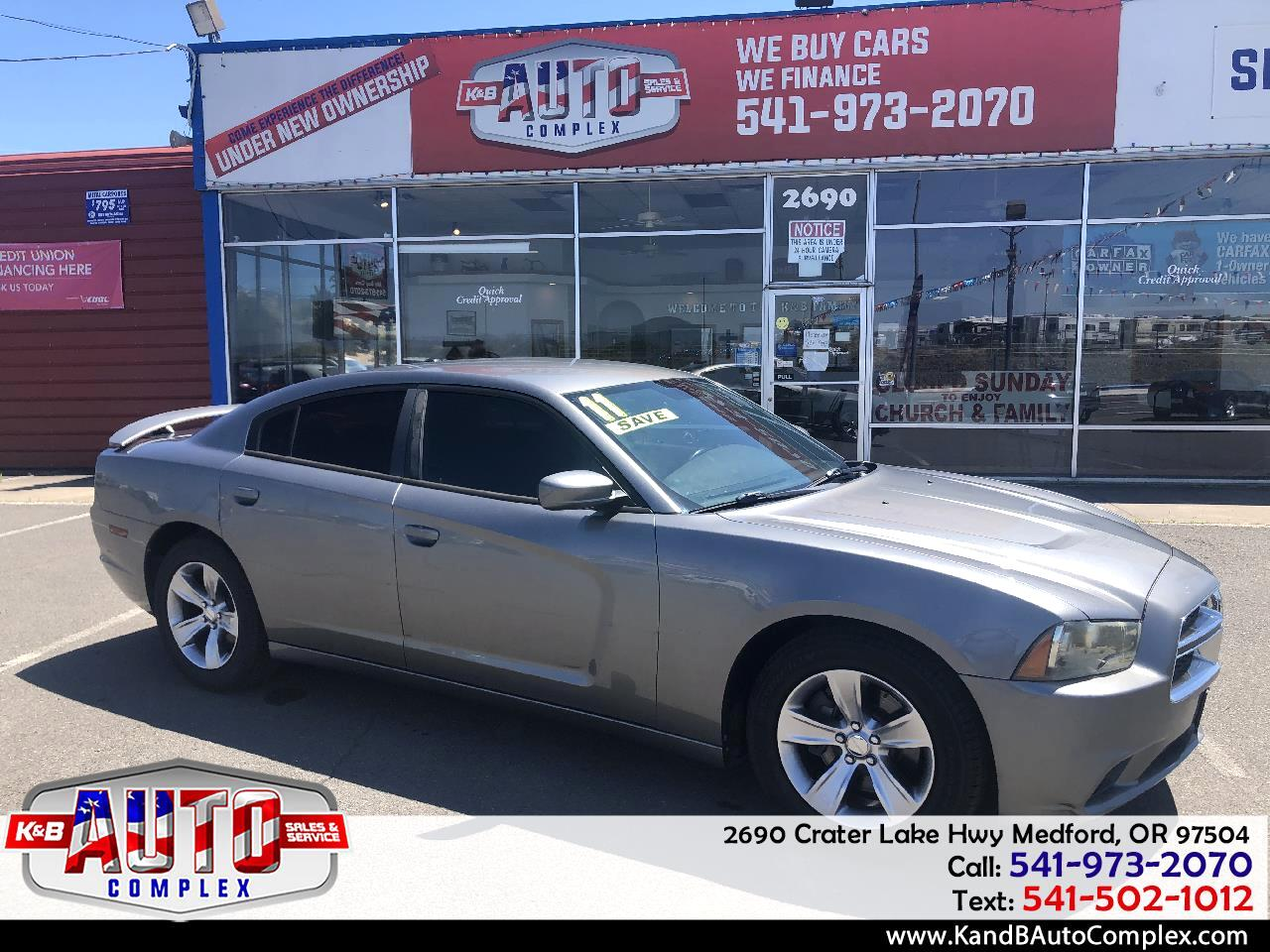 Dodge Charger 4dr Sdn RT RWD 2011