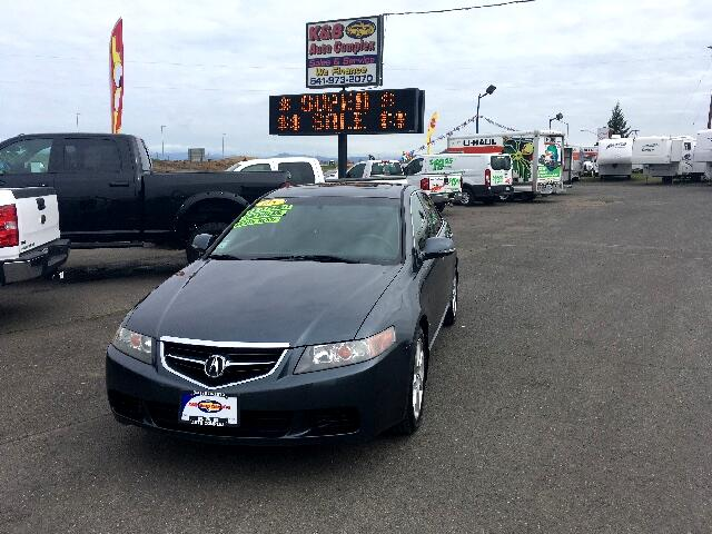 Acura TSX 5-speed AT with Navigation System 2005