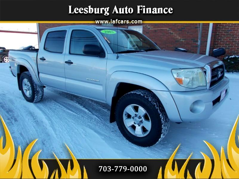 2005 Toyota Tacoma 4WD Double Cab V6 AT TRD Sport (Natl)