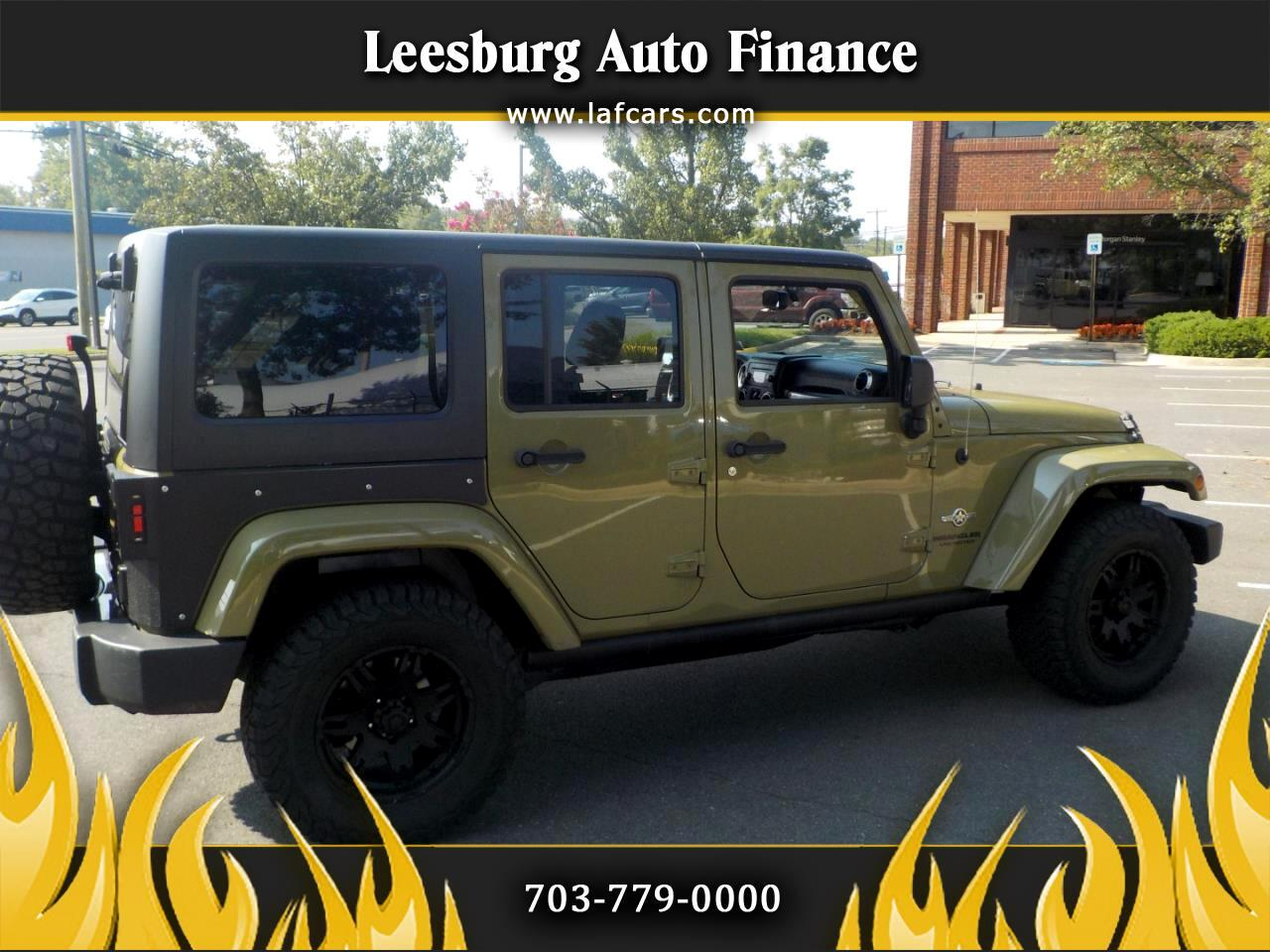 Jeep Wrangler Unlimited 4WD 4dr Freedom Edition *Ltd Avail* 2013