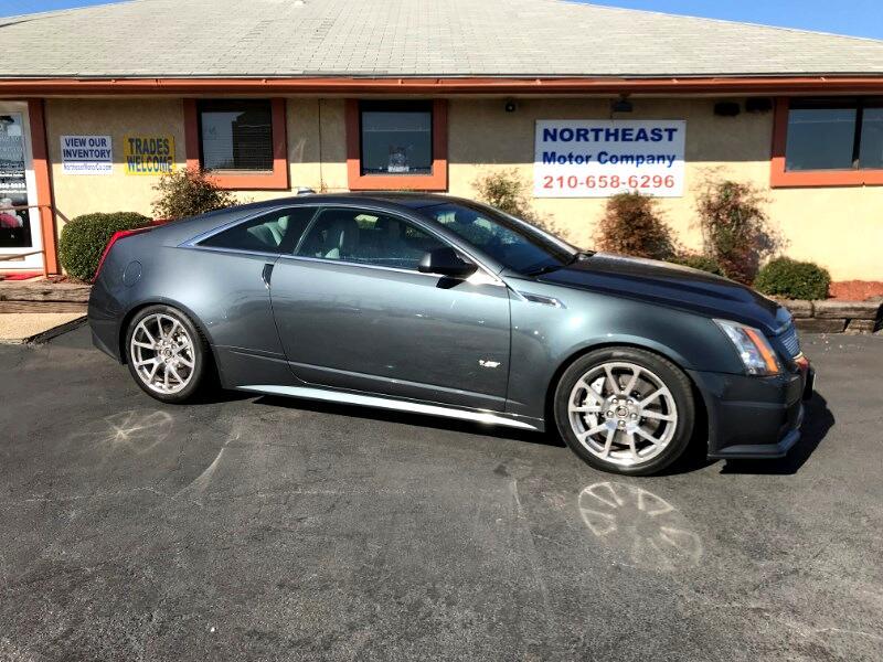 Cadillac CTS V Coupe 2013