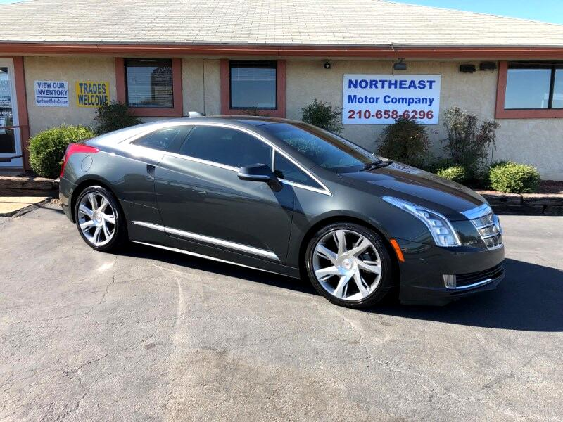 Cadillac ELR Luxury with Premium Seat & Adaptive Cruise Control 2014