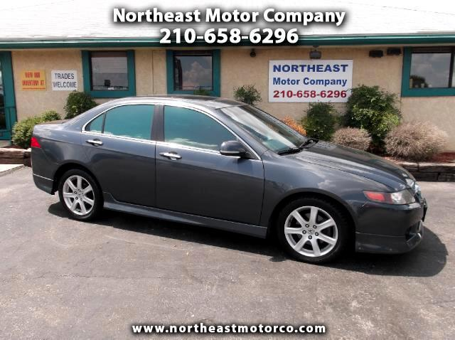 Acura TSX 6-speed MT with Navigation System 2004