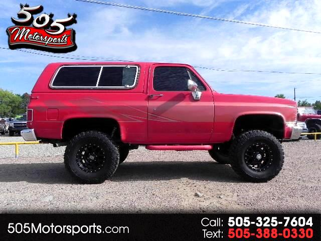 1985 Chevrolet C/K 10 Blazer 4WD