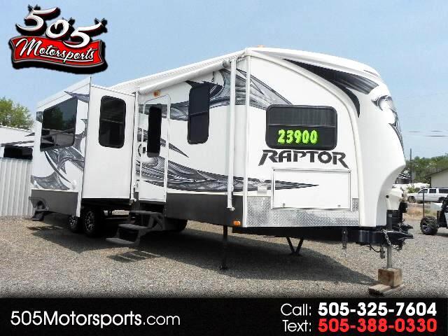 2013 Keystone RV Raptor Toy Hauler M-30 FS