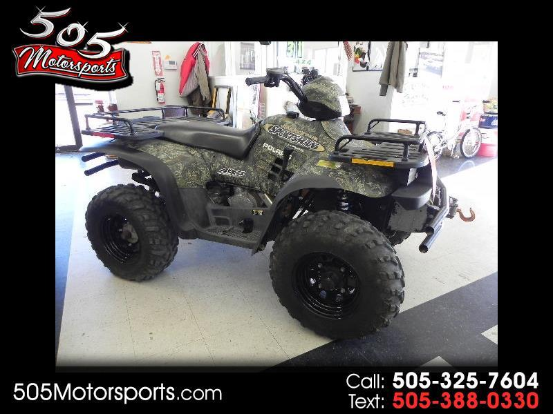 2002 Polaris Sportsman 500 HO 4X4