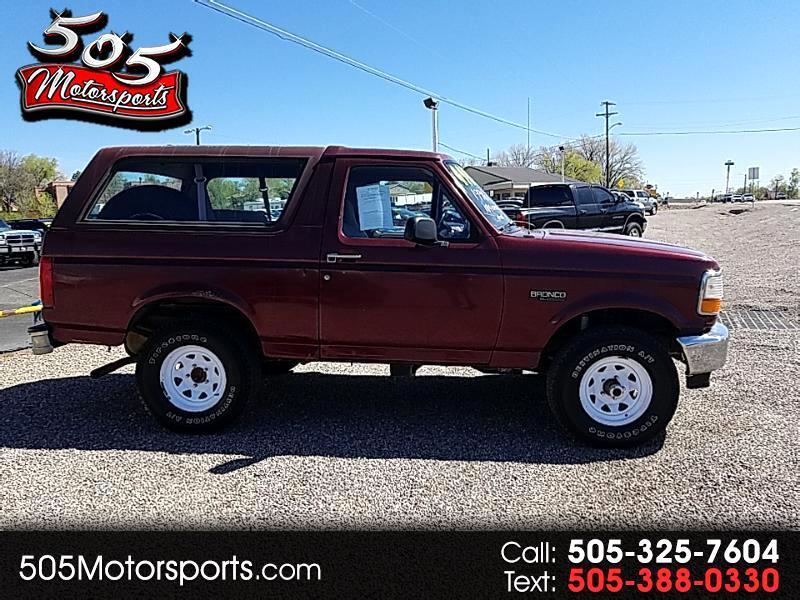 1996 Ford Bronco XL
