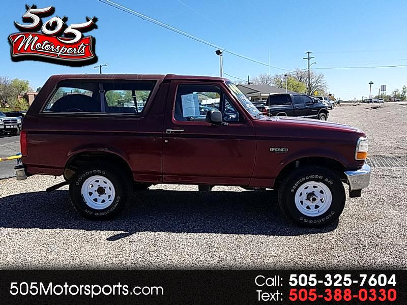 1996 Ford Bronco XL