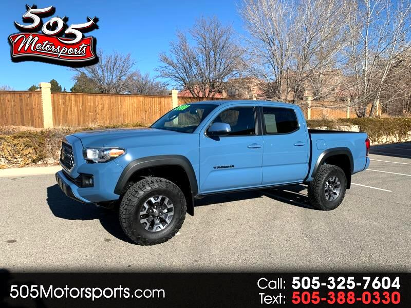 Toyota Tacoma TRD Off Road Double Cab 5' Bed V6 4x4 AT (Natl) 2019