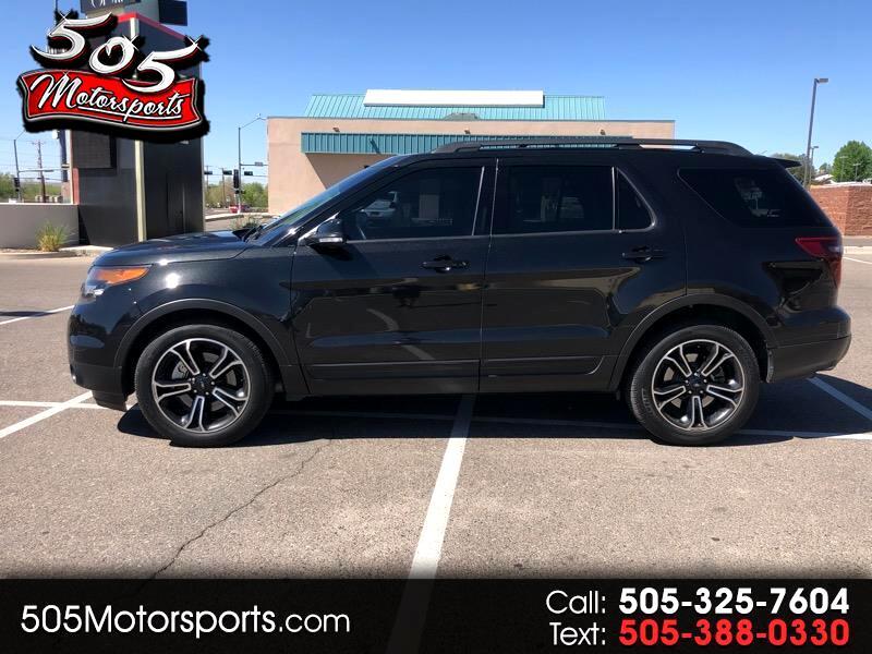 Ford Explorer Sport 4WD 2015
