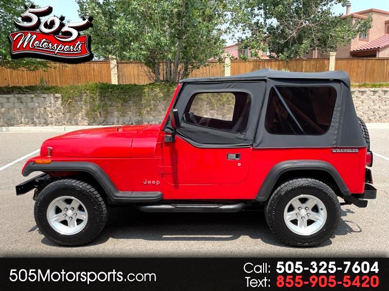 Jeep Wrangler S Soft Top 1990