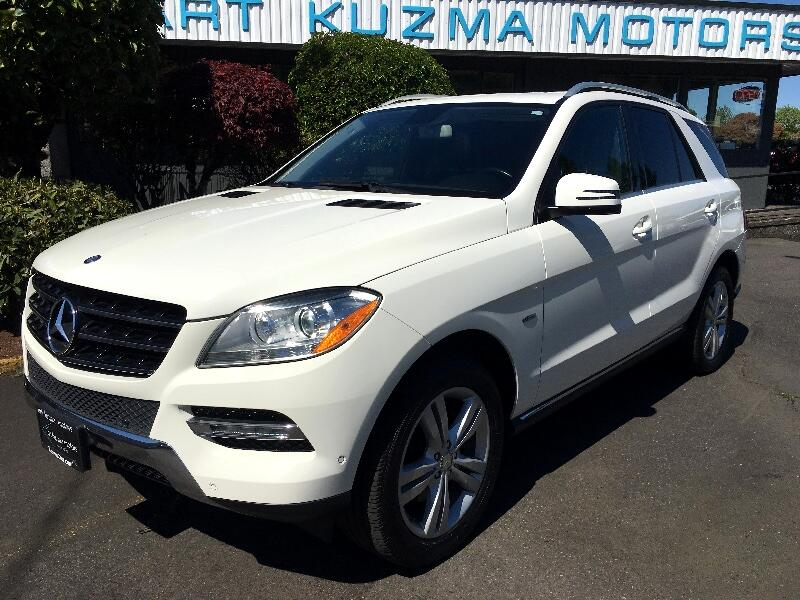 2012 Mercedes-Benz M-Class ML350 Blue Tec 4-Matic SUV