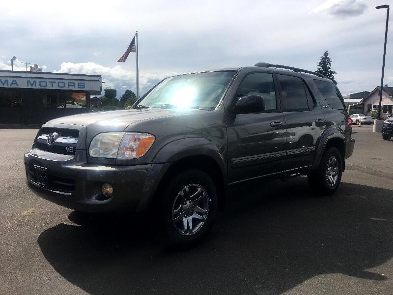 2007 Toyota Sequoia Limited 4WD 3 Seat SUV