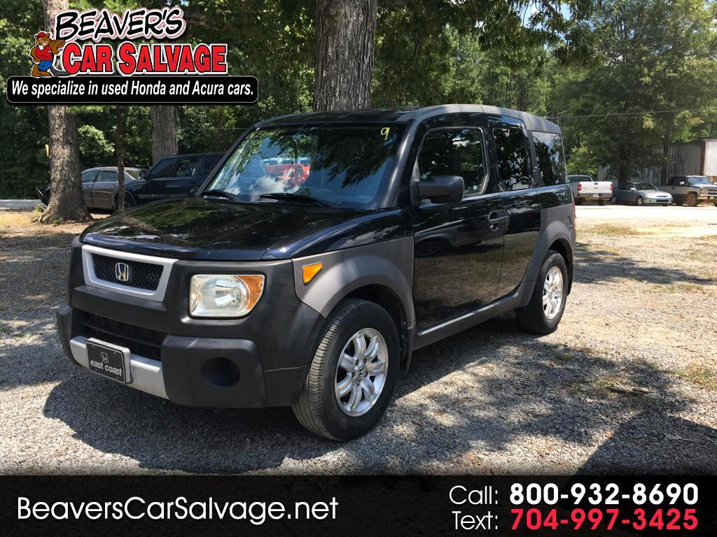 2004 Honda Element EX 2WD w/ Front Side Airbags