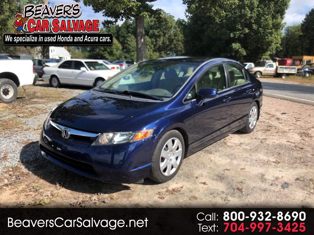 2006 Honda Civic Sdn LX AT