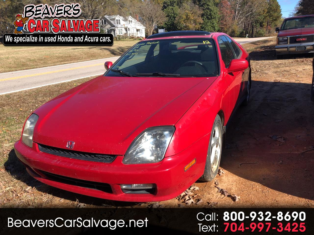 2000 Honda Prelude 2dr Cpe Manual