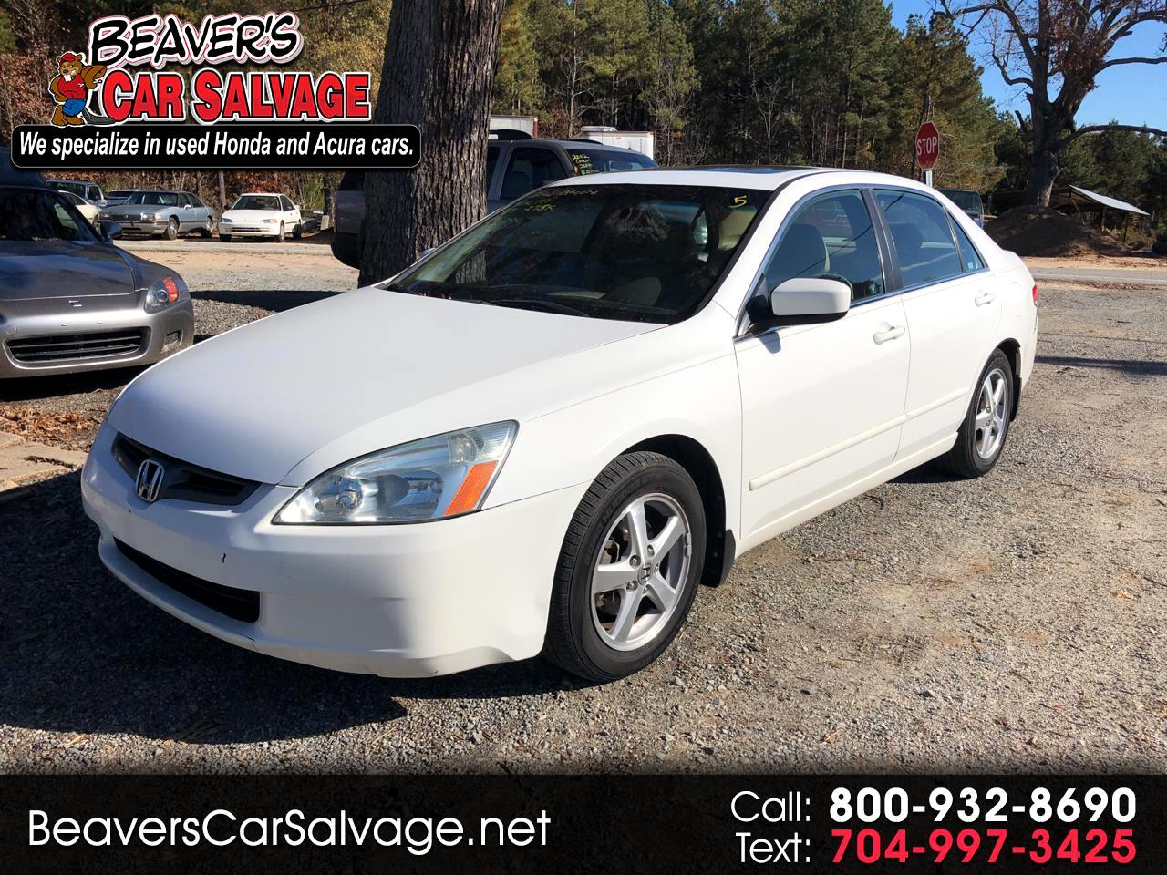 2003 Honda Accord Sdn EX Auto