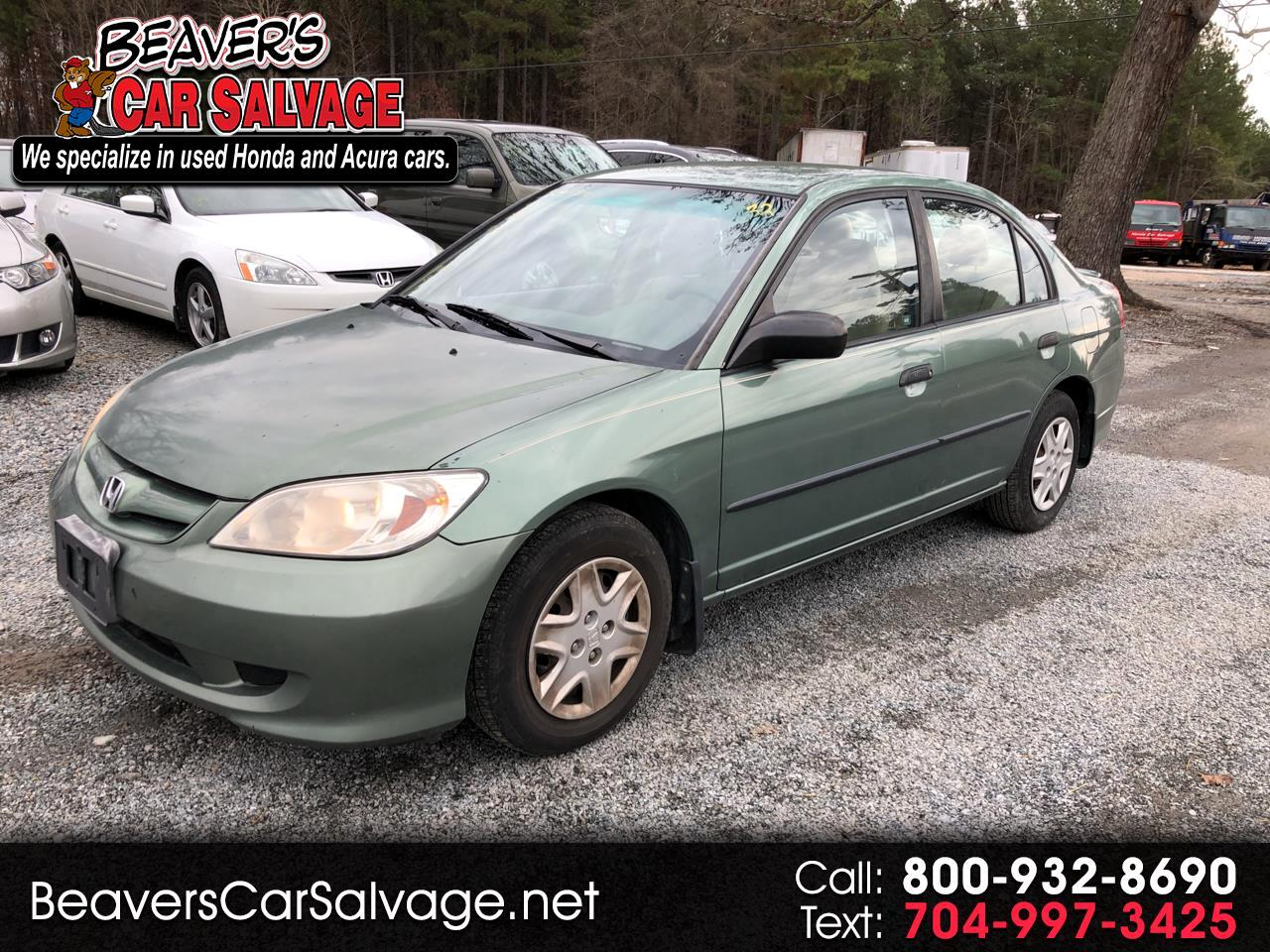 2004 Honda Civic 4dr Sdn VP Auto