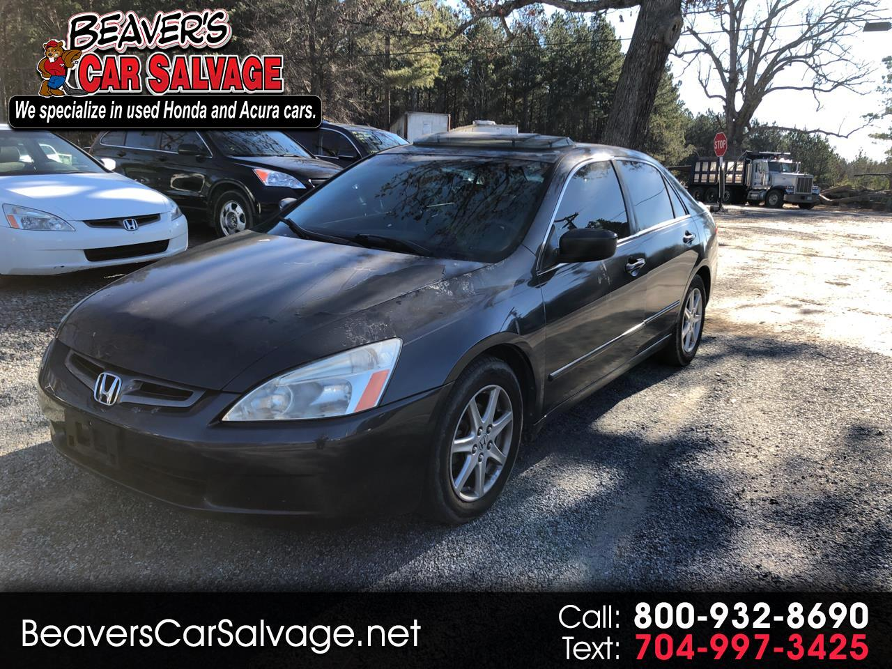 2003 Honda Accord Sdn EX Auto V6 w/Leather