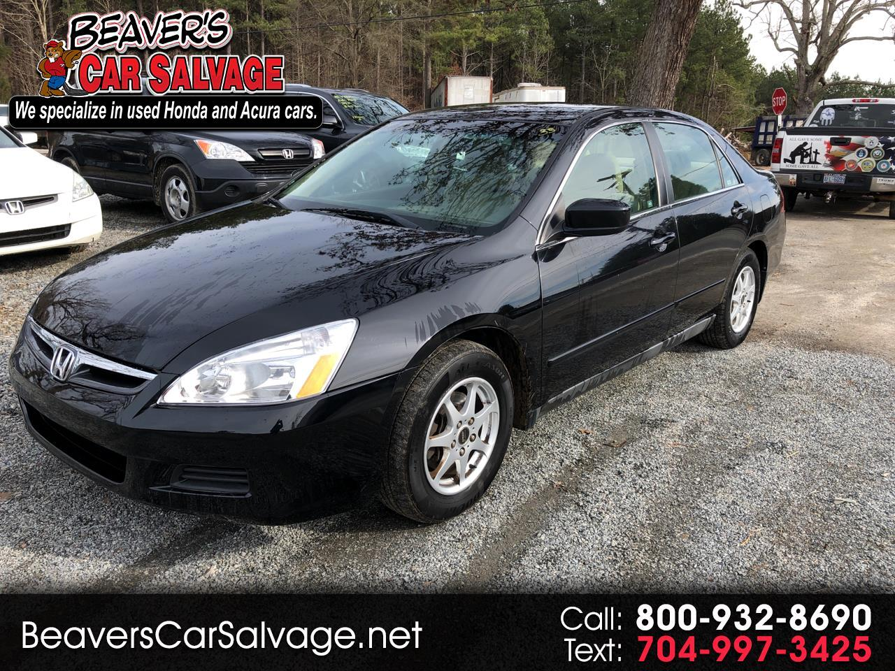 2007 Honda Accord Sdn 4dr I4 AT LX