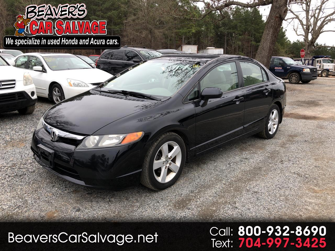 2006 Honda Civic Sdn EX AT