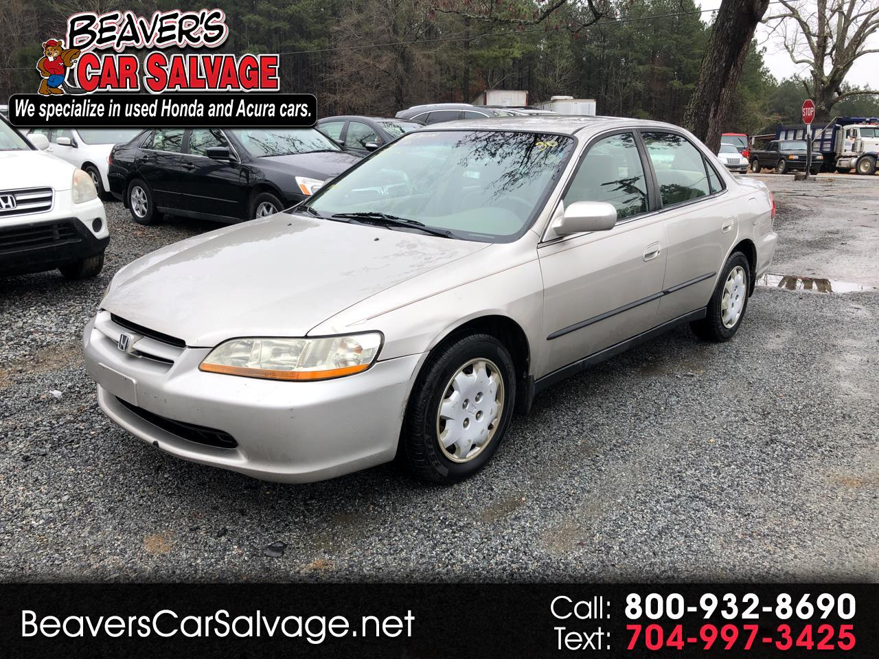 1998 Honda Accord Sedan 4dr I4 Man LX