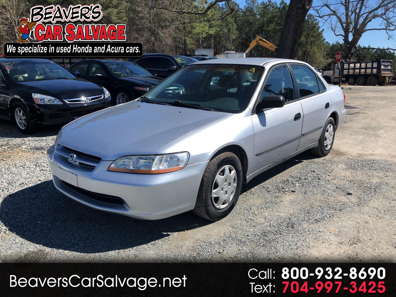 1998 Honda Accord Sdn 4dr Sdn DX Manual