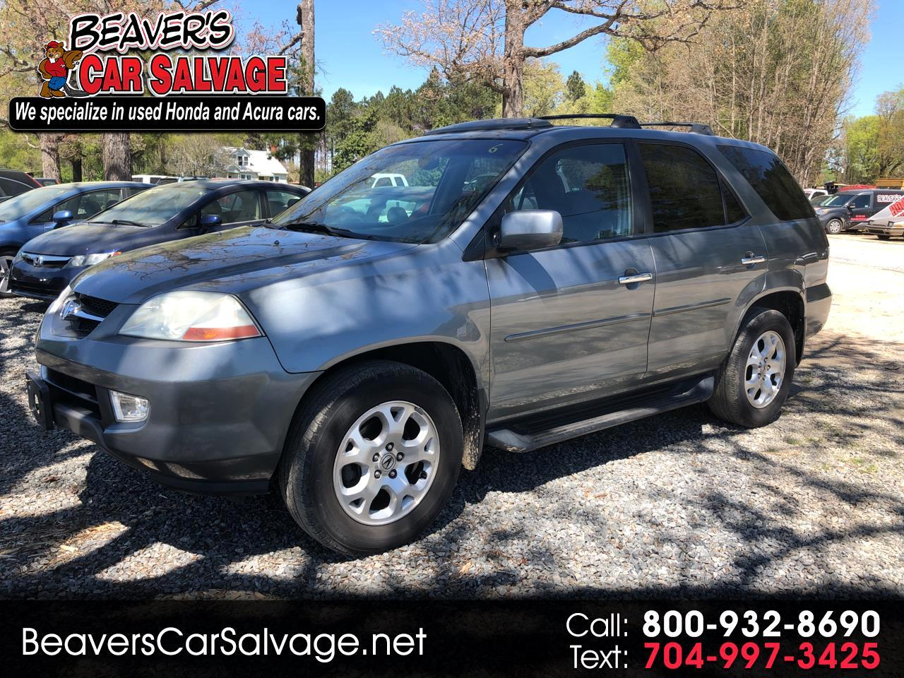 2002 Acura MDX 4dr SUV Touring Pkg