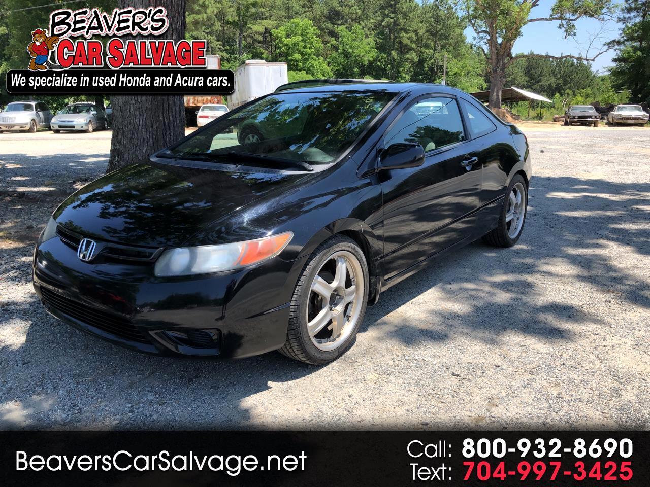 2008 Honda Civic Cpe 2dr Man LX