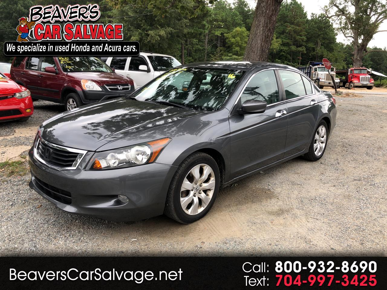 2009 Honda Accord Sedan 4dr I4 CVT EX