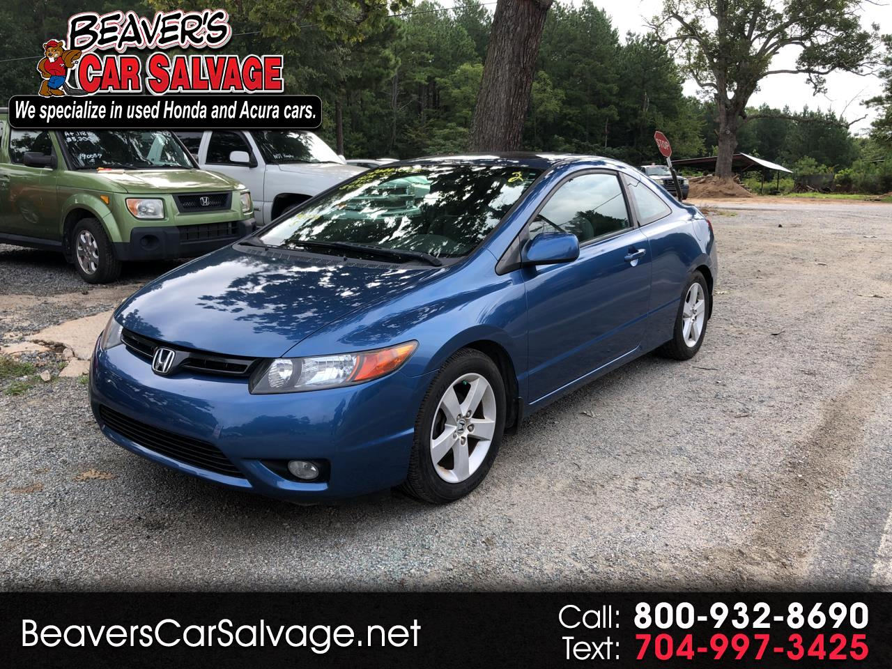 2006 Honda Civic Cpe EX MT