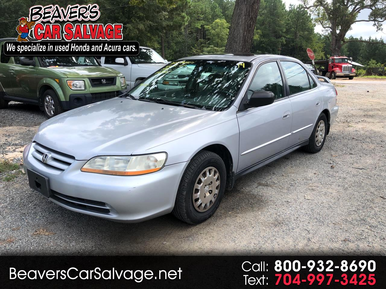 2001 Honda Accord Sdn VP Auto