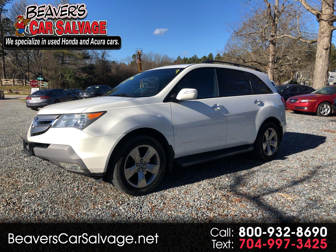 Acura MDX 4WD 4dr Sport/Entertainment Pkg 2007