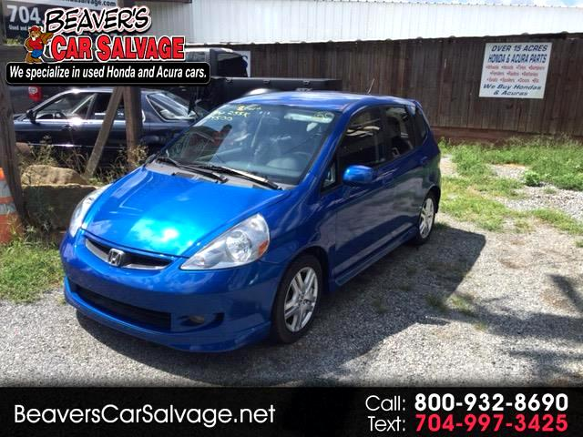 2007 Honda Fit Sport 5-Speed MT