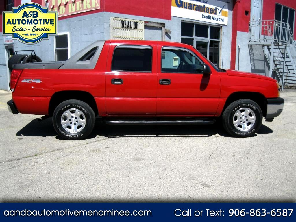 "2005 Chevrolet Avalanche 1500 5dr Crew Cab 130"" WB 4WD LS"